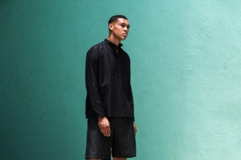 OUTLIER All-Black in Warmer Weather With Openweight Merino and Injected Linen Pieces