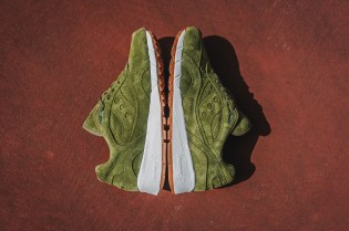 "Packer Shoes to Release Exclusive ""Olive Suede"" Saucony Shadow 6000"