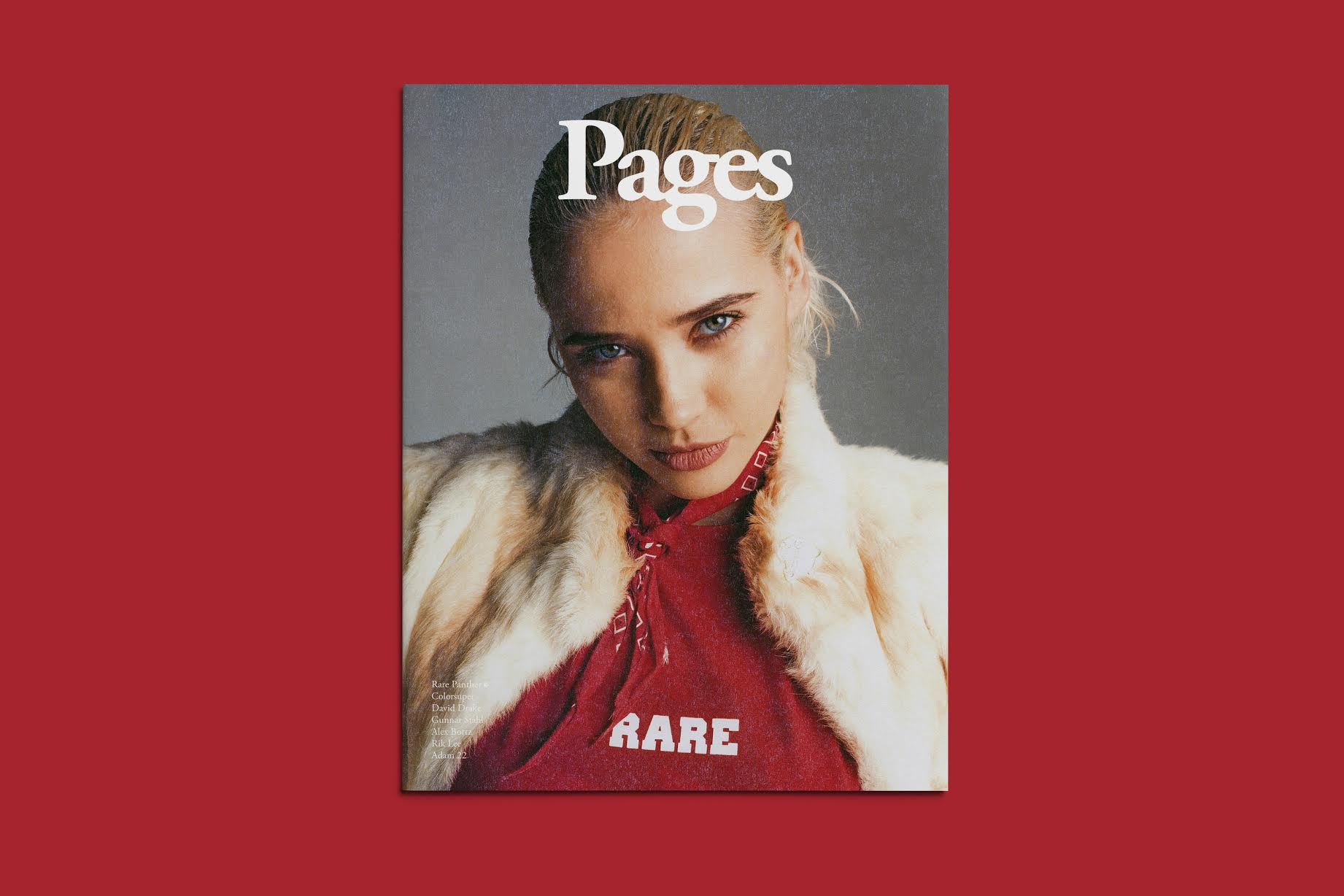 Pages Magazine Features Rare Panther, Gunner Stahl, Rik Lee & More in Second Issue