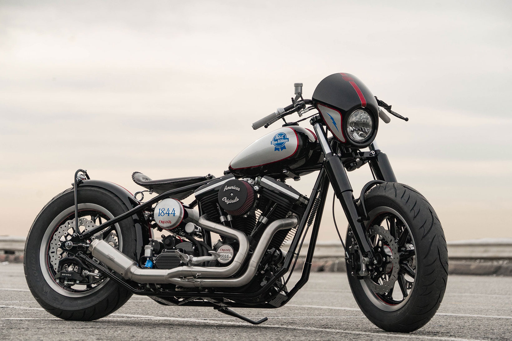 PBR x The Speed Merchant Auctions Custom Big Twin Motorcycle for Charity