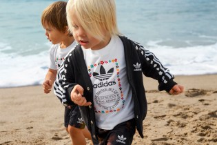 """#hypebeastkids: Pharrell & adidas Are Dropping a """"Pink Beach"""" Collection for Tykes"""