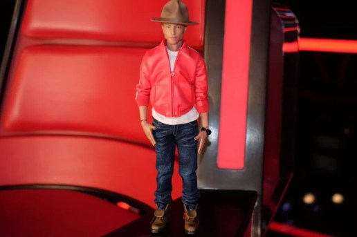 Pharrell Teases His Medicom Toy Action Figure