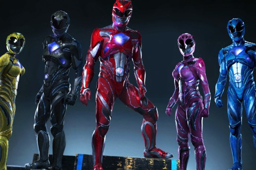 A First Look at the New Power Rangers Suits