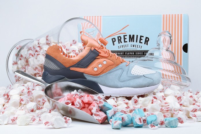 "Premier x Saucony Officially Reveals Their ""Sweets"" Collaboration"