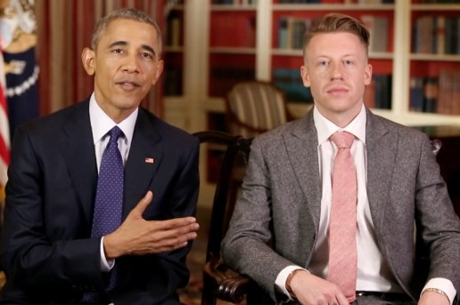 President Obama and Macklemore Discuss Addiction for the 'Weekly Address'
