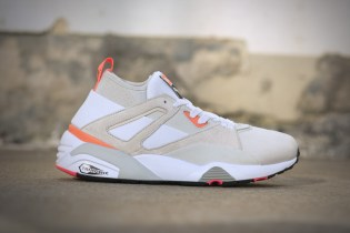 "PUMA Introduces the Blaze of Glory Sock Fresh in ""Fluo Peach"""