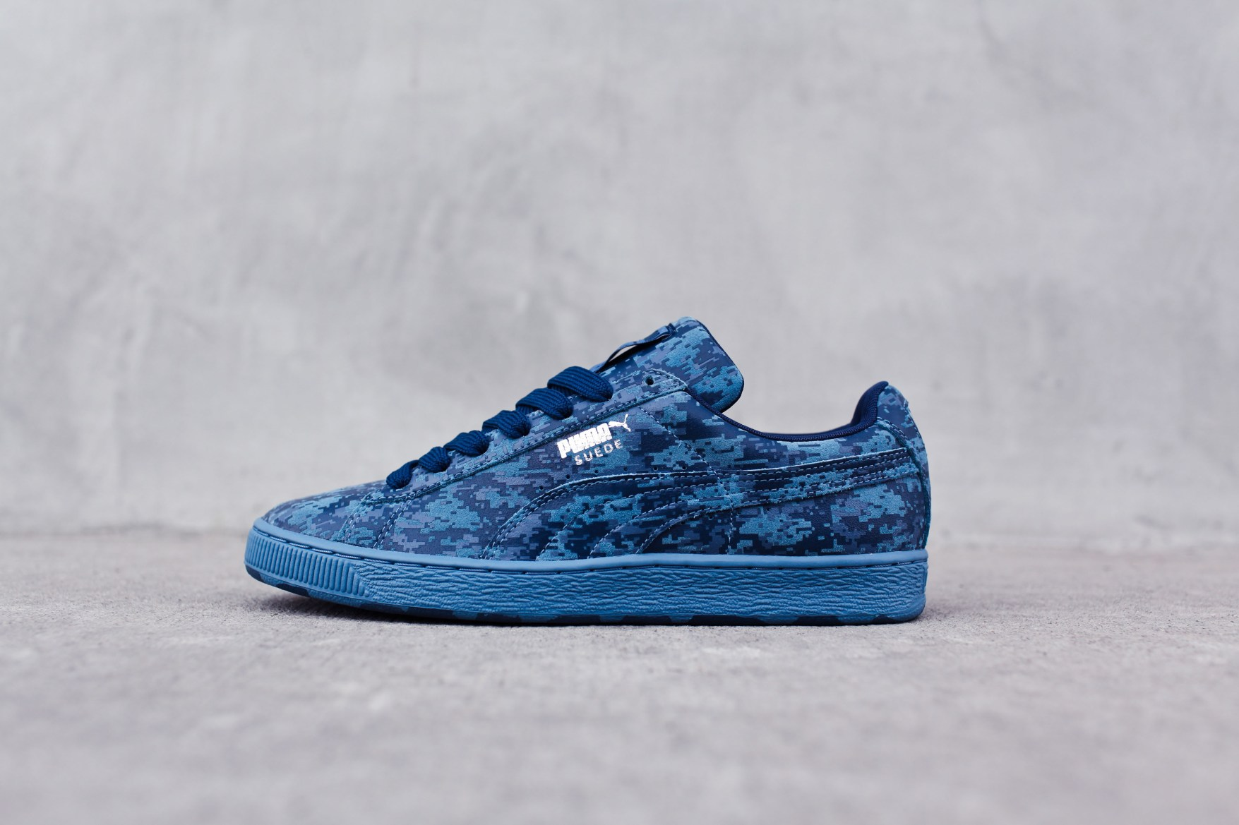Puma Shoes Blue And Pink Velcro