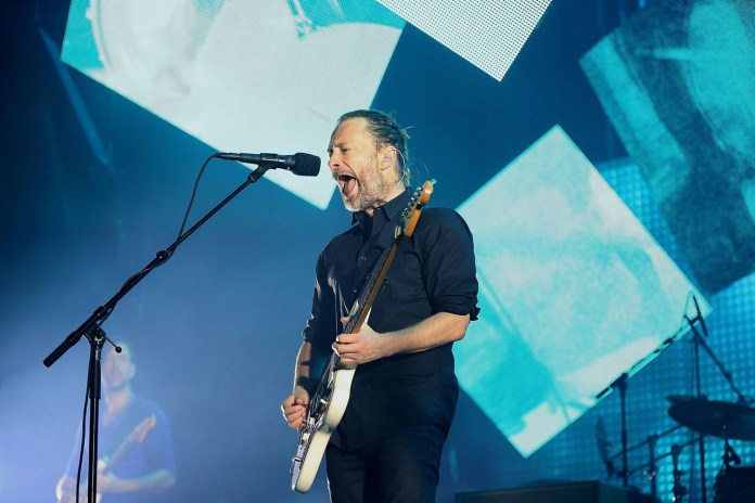 Radiohead Vanished From the Internet