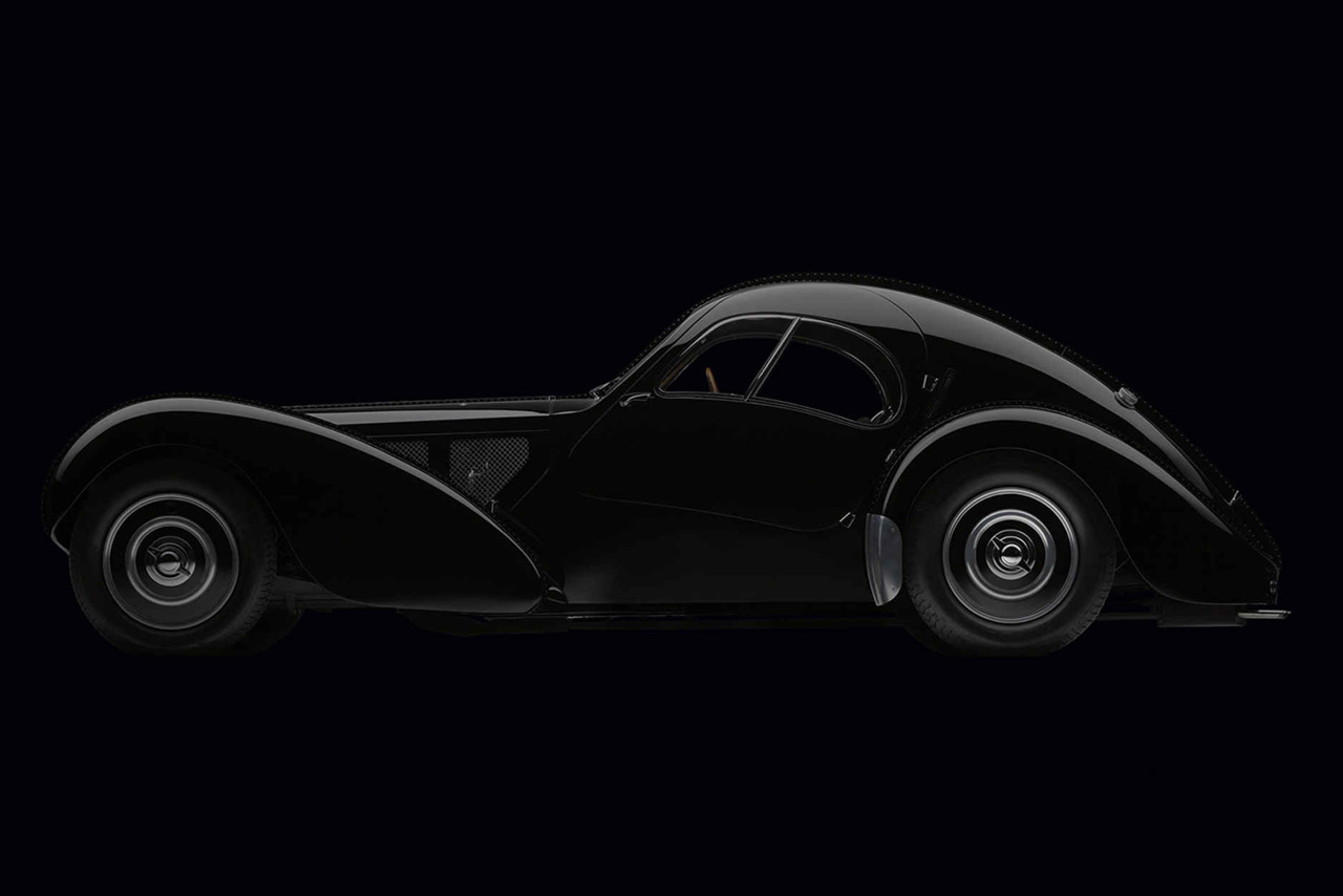Take a Look at Ralph Lauren's All-Black 1936 Bugatti Type 57SC Atlantic Coupé