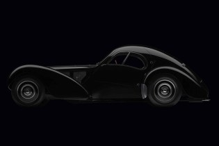 Take a Look at Ralph Lauren's All-Black 1936 Bugatti Type 57SC Atlantic Coupé