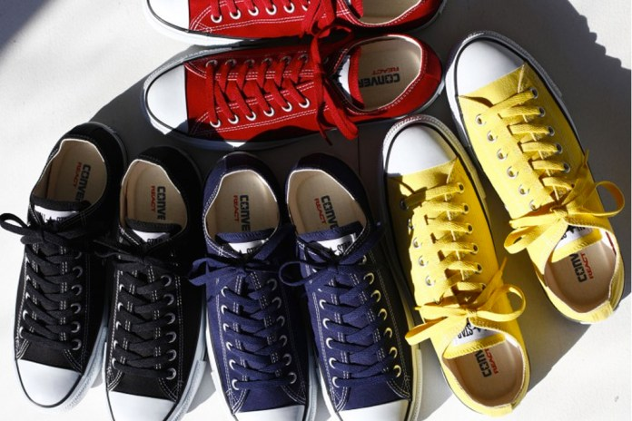 Converse Japan Reintroduces REACT Technology to Its Celebrated All Star