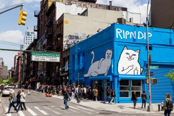A Look Inside RIPNDIP's NYC Pop-Up Shop