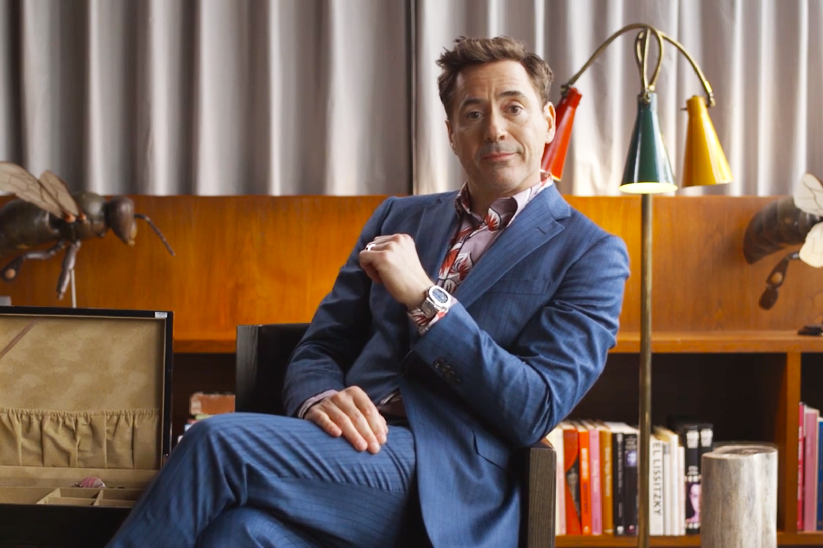 Robert Downey Jr. Shows off His Extensive Watch Collection
