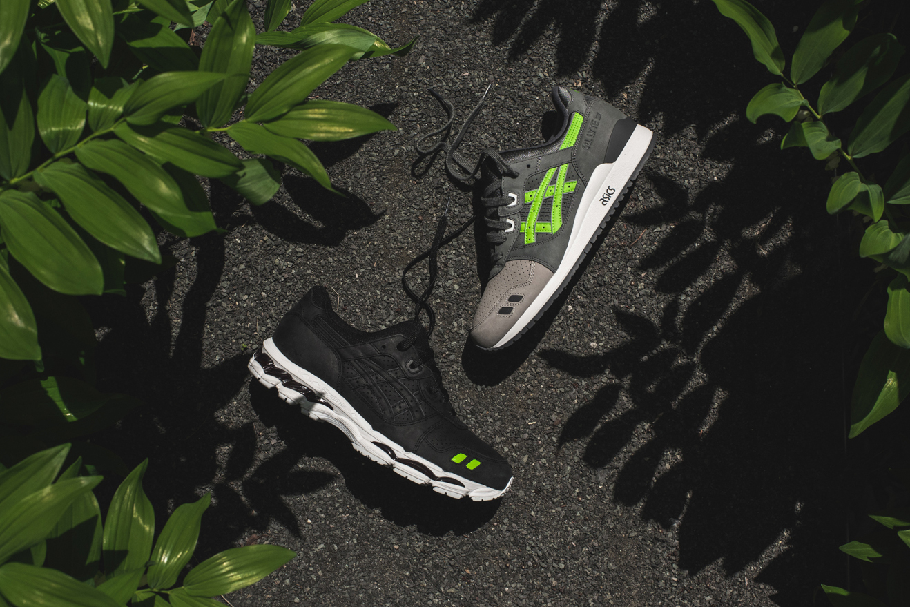 """Ronnie Fieg Officially Unveils His ASICS """"Super Green"""" Pack"""