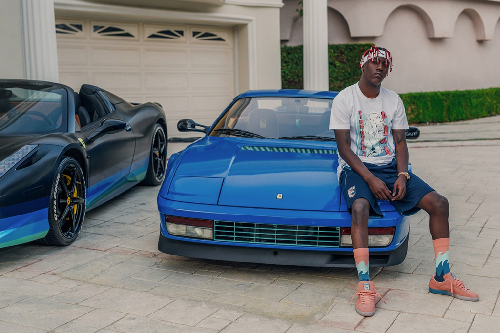 Lil Yachty Fronts New PUMA and Pink Dolphin Capsule Collection