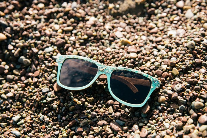 "Shwood Uses Real Seashells for Its Upcoming ""Sea"" Eyewear"