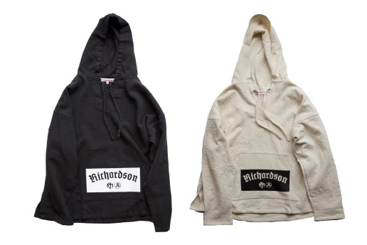 Silkscreened 'Richardson Magazine' Patch Logo Hoodies