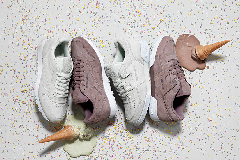 size? and Reebok Classics Drop a Summer-Ready 'Gelato' Pack