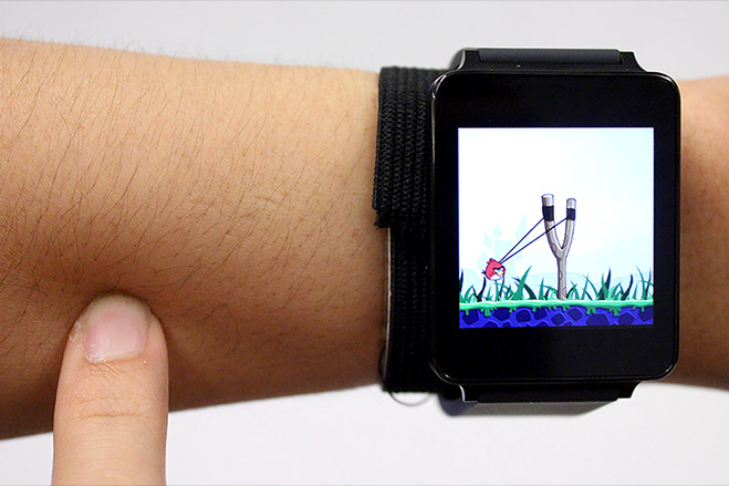 Turn Your Arm Into a Touchscreen With This New Smartwatch