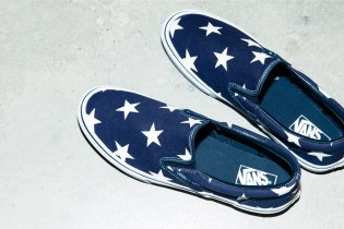 SOPHNET. Gives the Vans Classic Slip-On a Star-Studded Makeover