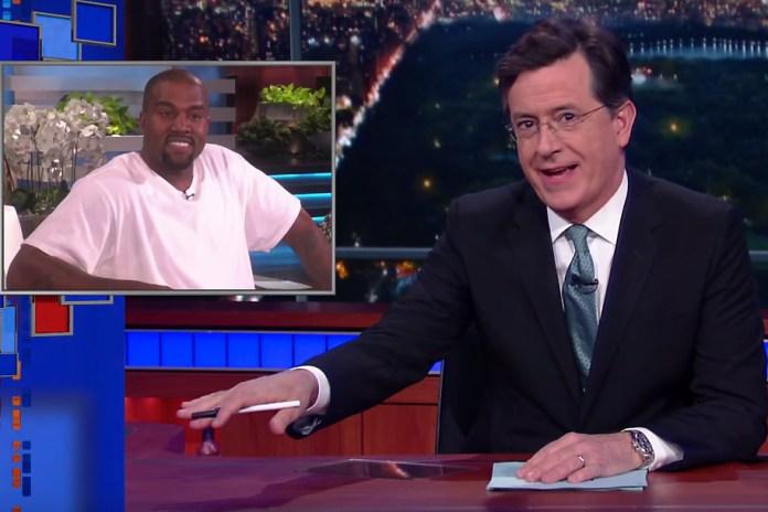Watch Stephen Colbert's Parody of Kanye's Inteview on Ellen DeGeneres