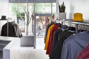 A Look Inside Stutterheim's New York Flagship Store