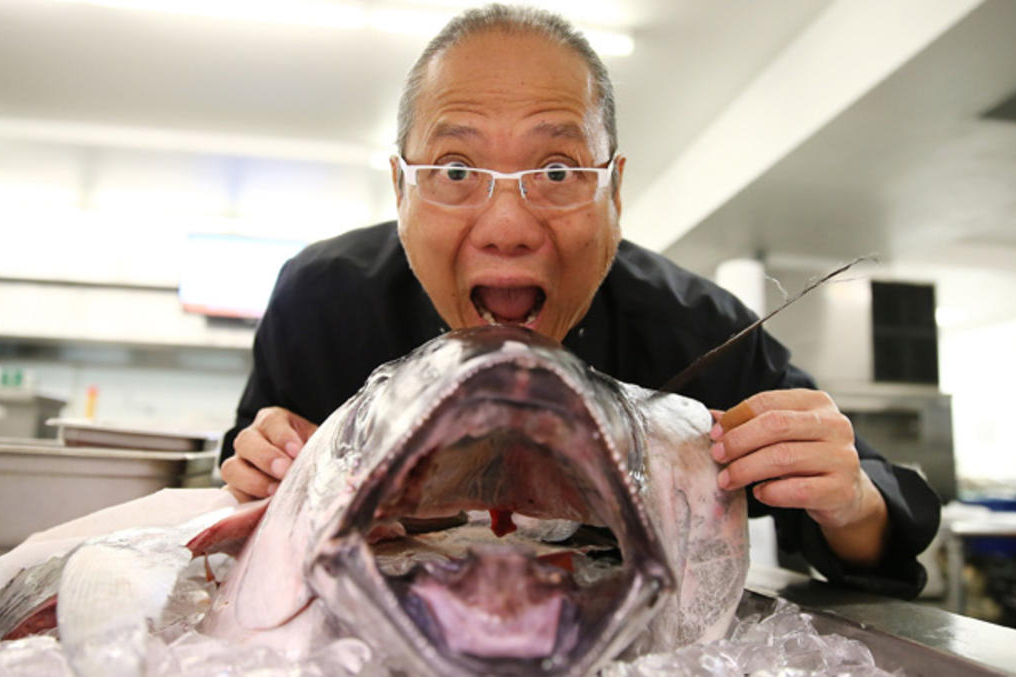 See the Softer Side of World Famous Iron Chef Masaharu Morimoto