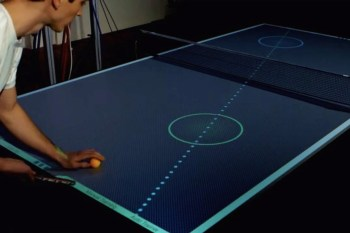 This Is the Ping Pong Table of the Future