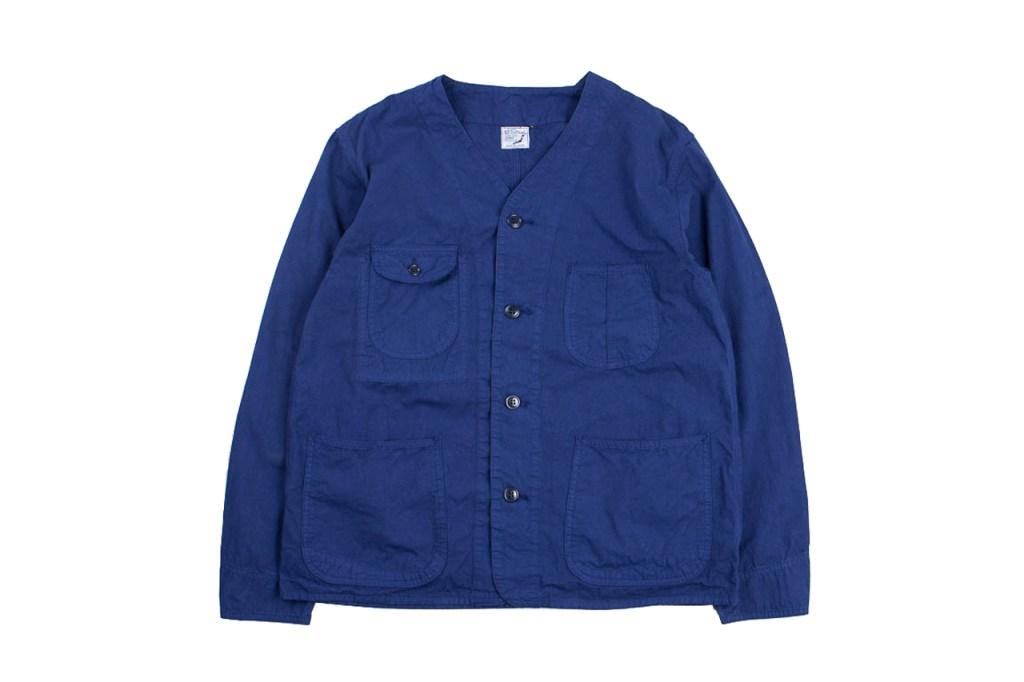 the bureau belfast x orslow poplin railroad jackets hypebeast. Black Bedroom Furniture Sets. Home Design Ideas