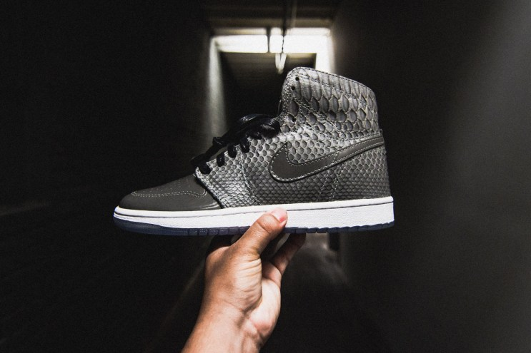 This Custom Air Jordan 1 Is Detailed With Python, Patent Leather & 3M Reflective
