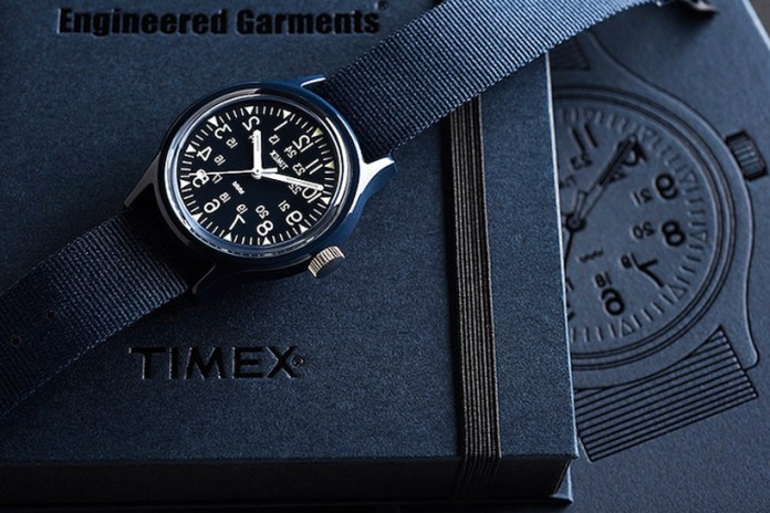 Timex and Engineered Garments Revisit the Classic Camper Watch in Classic Navy