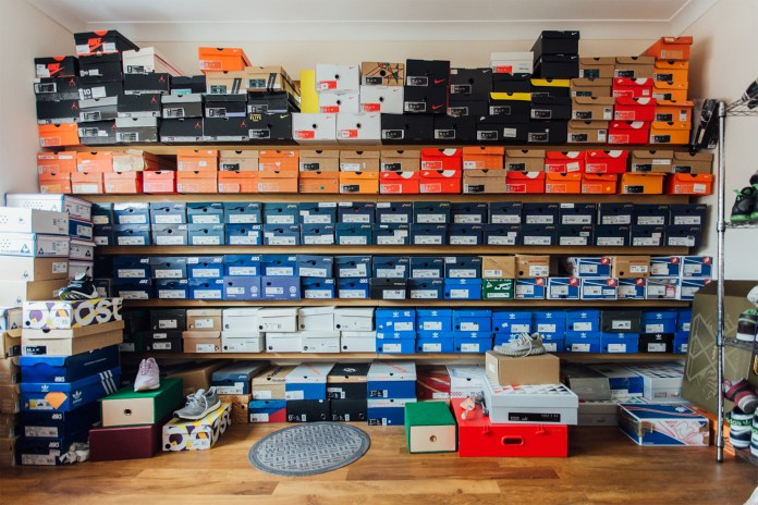HYPEBEAST Kicks Exhibitor Tom Ray Discusses His Ever-Expanding Sneaker Collection