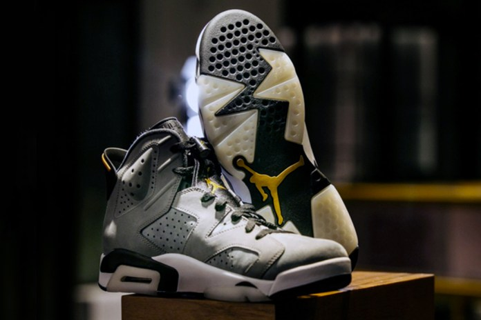 First Look at 1-Of-1 Air Jordan 6, Specially Made for Trophy Room's Official Opening