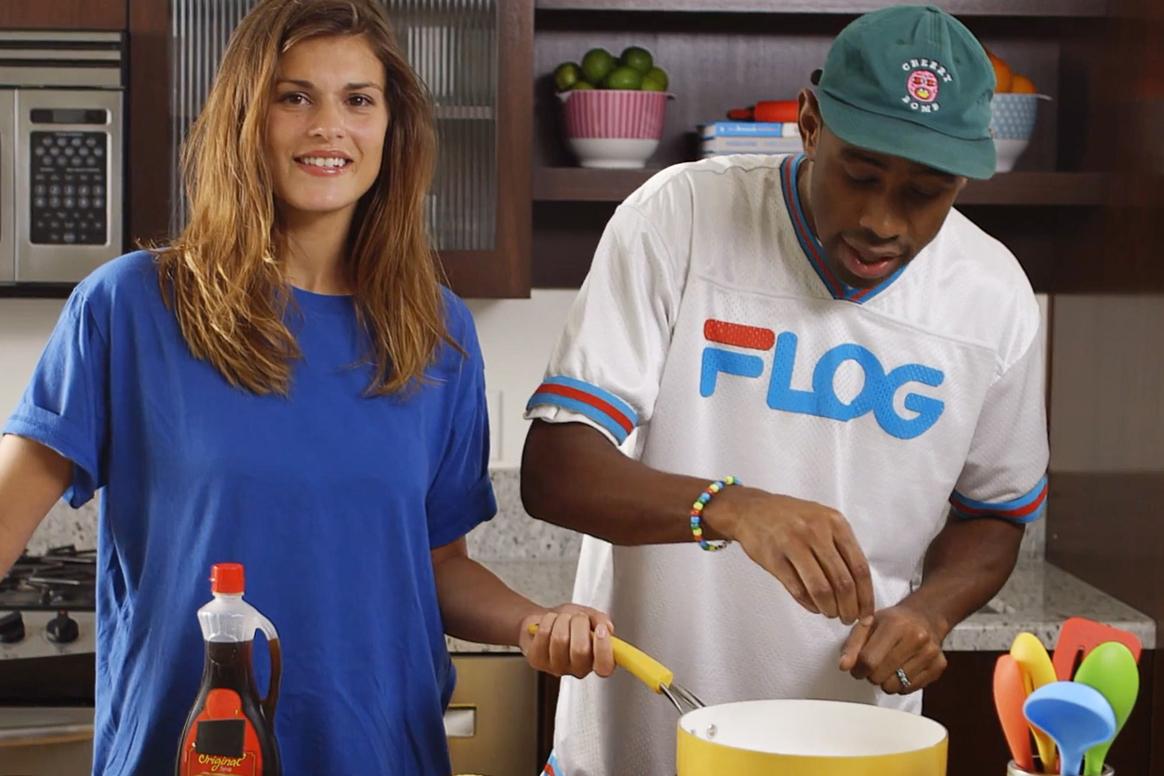 Watch Tyler, The Creator Make the World's Best Cinnamon Eggo Waffles
