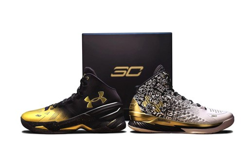 "Under Armour Announces the ""Back 2 Back MVP"" Pack Honoring Steph Curry"