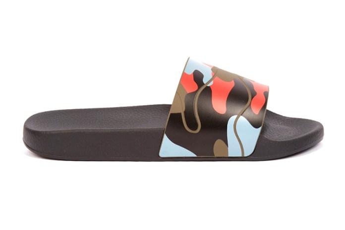 "Valentino's ""Camo"" Pool Sliders Are Essential"