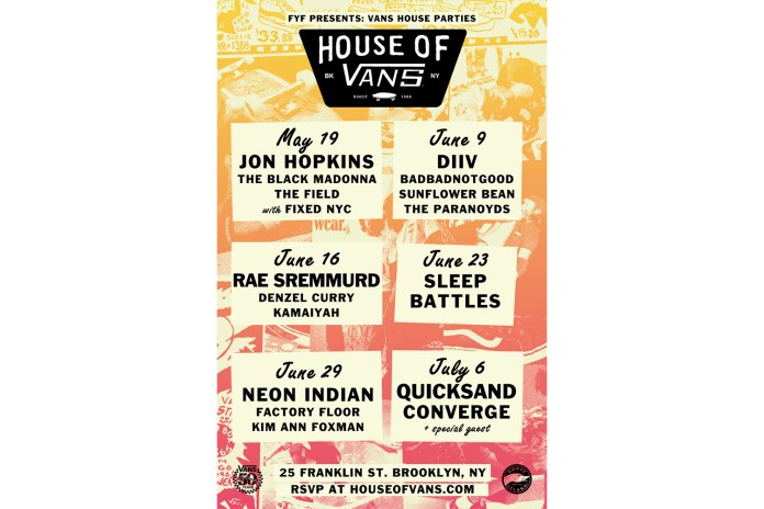 Vans Announces the Return of the Vans House Parties