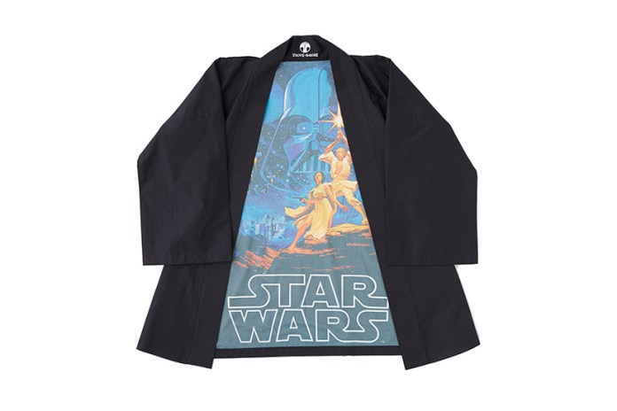 Let Your Inner Nerd out With Warobu's 'Star Wars'-Inspired Yukata Tops