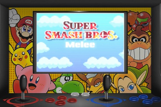 Watch This Animated Recreation of the 'Super Smash Bros. Melee' Intro