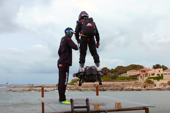 Watch This Guy Break the World Record for Farthest Hoverboard Flight