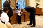 Picture of An Intimate Look at the Day in the Life of Barack Obama