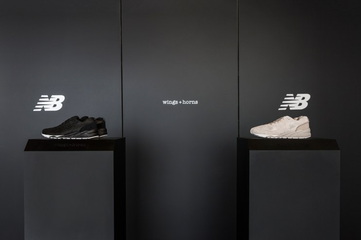 wings+horns Takes the Season by Storm With a Bold New Balance Collab
