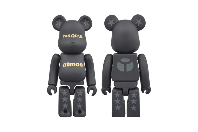 YAKPAK x atmos x Medicom Toy Bearbrick