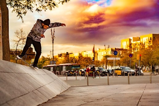 The Zoo York Skateboarding Team Shreds Barcelona's Beautiful Architecture