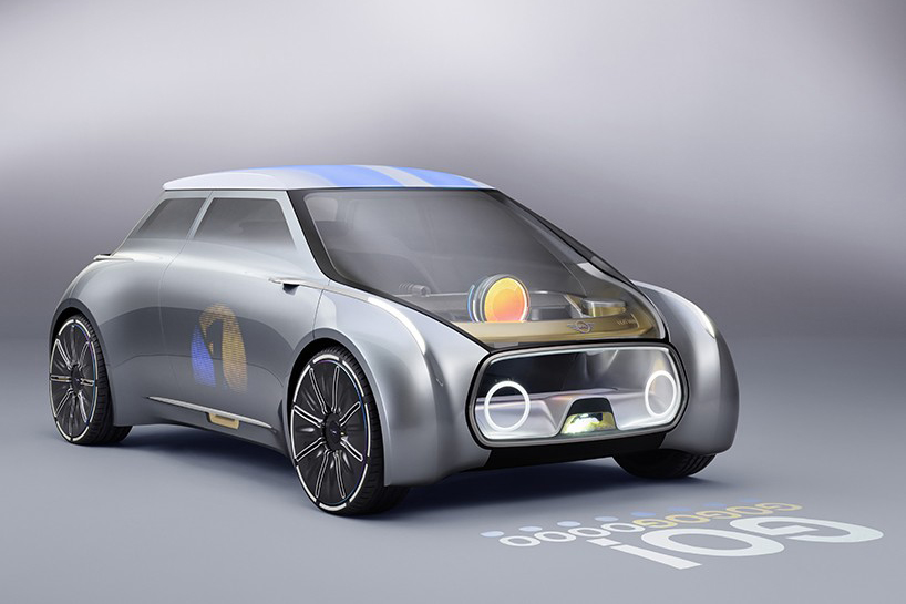 BMW Celebrates 100th Anniversary With MINI 'Vision Next 100' Concept Car