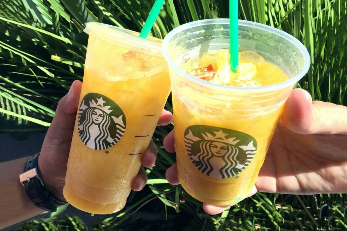 "Starbucks Concocts ""Orange Drink"" for Latest Secret Menu Creation"