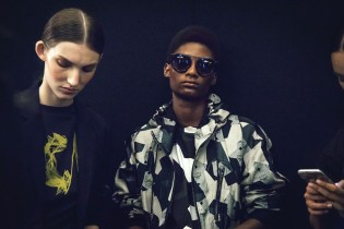 A Backstage Look at Christopher Raeburn's Print-Heavy Collection for MCM