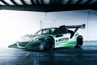 Acura Takes on the Infamous Pike Peak Circuit With a Fully Electric Concept