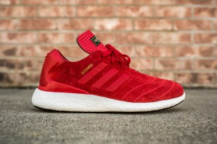 adidas Brings an All-Red Upper to Dennis Busenitz's Pure Boost