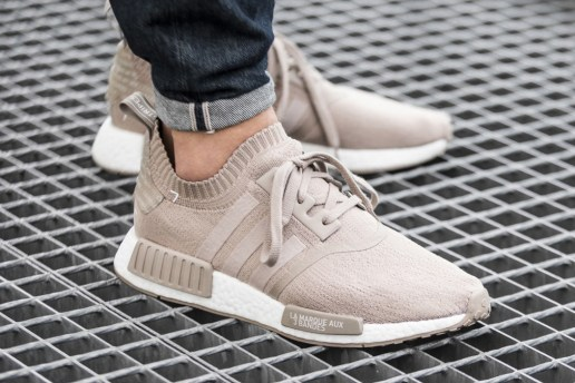"The adidas NMD R1 Primeknit ""French Beige"" Is Confirmed for a Release Next Week"